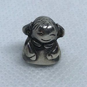 Pandora ALE Sterling Silver Little Girl Bead Charm